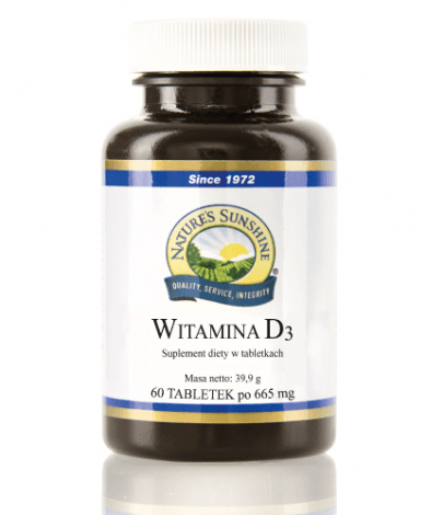 Witamina D3 Nature's Sunshine