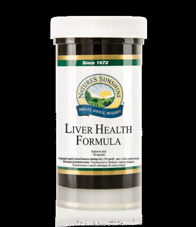 Liver Health Formula (100 kaps.) Nature's Sunshine NSP Polska
